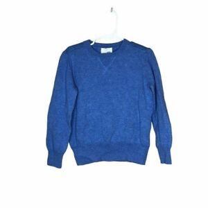 Crew cuts blue crew neck sweater boys size 4/5
