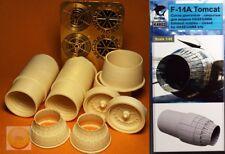 """1/48. F-14A resin closed nozzles, by """"Katran Models"""" K4802, for """"Hasegawa"""" kit"""