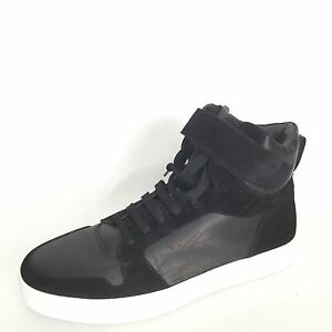 To Boot New York Clint Men's Size 8.5 M Black Leather/ Suede Fashion Sneakers.