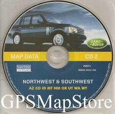 Update 2000 2001 2002 2003 2004 Range Rover Navigation CD #2 Map North/Southwest