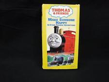 VHS Rare Tape Thomas the Tank Engine & Friends Make Someone Happy