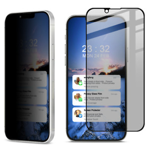 For Apple iPhone 13 Pro Max /Mini IMAK Privacy Glass Full Cover Screen Protector