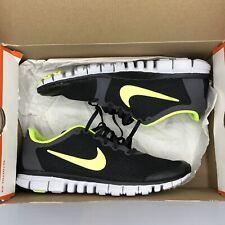 b7c812f6ab4e7 Nike Free 3.0 Black Volt 2 354574 003 Size 9.5 Air Max Ultra Run