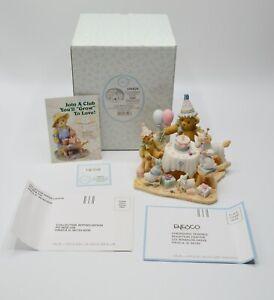 Cherished Teddies 104029 Aggie Adoption Center Birthday Figurine With BOX