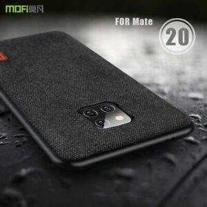 Huawei Mate 20 Pro / Mate 20 / Mate 20 X Case Cover Soft Edge Full Black Coffee