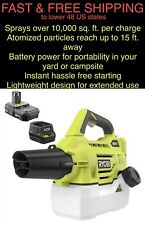 Free Ship Ryobi 18V P2850 Sanitizer Fogger similar Victory Electrostatic Sprayer