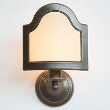 Applique Lampada ottone bagno parete ventola pergamena Appliques E14