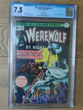 Werewolf By Night #33 CGC 7.5 UK Price Variant 2nd Appearance of Moon Knight