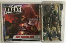 "ORC CONQUEROR WARRIOR Boss Fight Studios VITRUVIAN HACKS 4"" Inch FIGURE"