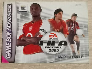 Fifa Football 2005 Game Boy Gameboy Advance GBA (Manual Only)