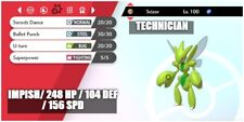6iv ULTRA Shiny SCIZOR  BATTLE READY Pokemon Sword and Shield