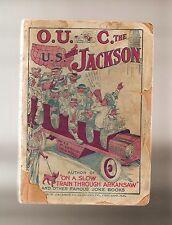 D108 O. U. Auto C. The U. S. With Jackson 1914 Joke Book