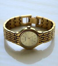 TISSOT STYLIST V232 Gold Tone Swiss Made Women's Dress Watch New Bettery Working