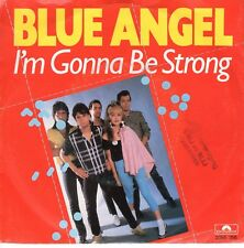 7inch BLUE ANGEL I'm gonna be strong HOLLAND ( CINDY LAUPER) 1980 EX/VG+ (S0720)