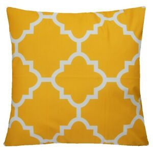 """20x20"""" Amber Yellow Soft Velvet Pillow Case Sofa Bed Home Decor Cushion Cover US"""