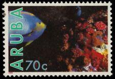"ARUBA 57 - Marine Life ""Queen Angelfish and Coral"" (pb18724)"