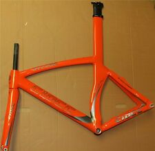 ciöcc SYLURO Hi Teck carbon Fahrradrahmen orange/grau *Ausstellungsstück*