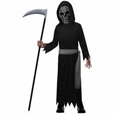 Death Reaper Halloween Costume for Boys, with Accessories