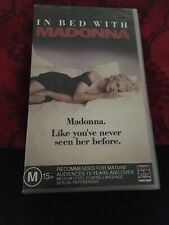 IN BED WITH MADONNA -  VHS VIDEO TAPE