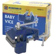"""2 """"de 50 Mm Giratoria Giratoria haciendo Bench cuadro Fix abrazadera Pequeña Mini Baby Vice Modelo"""