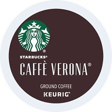 Starbucks Cafe Verona Coffee K-Cups Pack 24/Box BB MARCH 2018