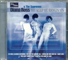 DIANA ROSS & THE SUPREMES YOU KEEP ME HANGIN' ON TAMLA MOTOWN CD