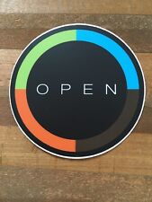 Open Cycles - Bicycle Cycling Sticker Decal