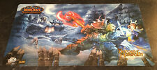 Warcraft WoW TCG Playmat Heroes Of Azeroth Mint