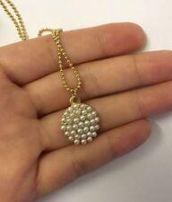 Chain Pearl Retro Costume Necklaces & Pendants