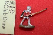 Grenadier Medieval Men at Arms Knight Figure Metal Fantasy Human Fighter OOP A1