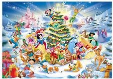 "Jigsaw Puzzles 1000 Pieces ""Disney Christmas"" / Ravensburger / Disney"
