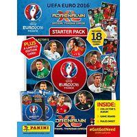 2016 PANINI ADRENALYN XL UEFA EURO 2016 STARTER PACK 18 CARDS/ALBUM/LE CARD