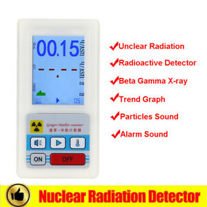 BR-6 Geiger Counter Dosimeter Nuclear Detector Gamma X-ray Professional Handheld