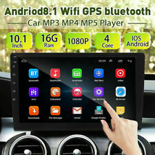 """10.1"""" Android8.1 Car Stereo GPS Navi MP5 Player Double 2Din WiFi Quad Core Radio"""