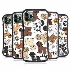 HEAD CASE DOG BREED PATTERNS 20 HYBRID CASE & WALLPAPER FOR APPLE iPHONES PHONES