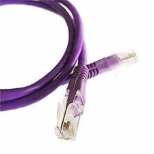1M (3.2ft) violet câble ethernet Cat5e RJ45 réseau lan patch plomb 100% cuivre