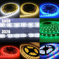 1/5M 3528/5050 SMD 60/300 LED Flexible Waterproof Light Strip 24V Car Party Lamp