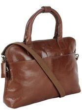 Cosmo London Leather Laptop Business Bag. Size is 16.89x11.77x3.58