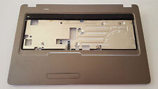 Compaq CQ72 HP G72 palmrest w/ speakers power print touchpad p/n 616490-001