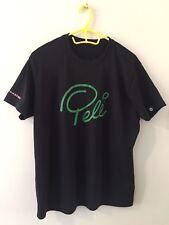 Football Pele Grandmaster 'Show The World Some Magic' Black Sport Top T-Shirt M