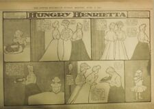 Hungry Henrietta by Winsor McCay from 6/4/1905 ! Half Page Size! 11 x 15 inches