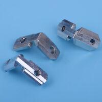 10X Innenwinkel Nut Winkelverbinder für 8mm 10mm T Slot Aluprofil Eckeverbinder