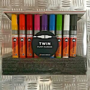 Molotow One4All 224 HS Acrylic Twin Tip Marker - Complete Set - 50 Markers