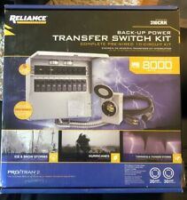 Reliance Controls 310CRK Transfer Switch Kit 10 Circuit Back up Power 30 Amp 250