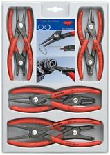 KNIPEX 00 20 04 SB Precision Circlip Snap-Ring Pliers Set, 8 Piece