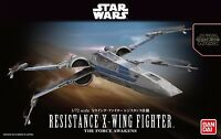 New Star Wars X-Wing Fighter Resistance specification 1/72 Plastic Model Kit