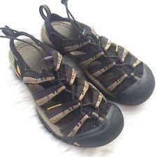 Keen Mens Size 8 Newport Waterproof Sandals Tan And Black Summer