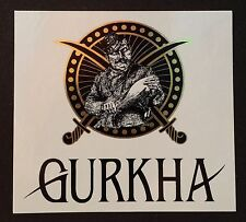 Gurkha cigar sticker / decal