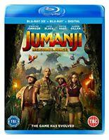 Jumanji: Welcome To The Jungle [Blu-ray 3D] [2017] [Region Free] -  CD WJVG The