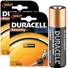 2 x Duracell MN27 LR27 A27 Battery for Garage Door Security Remotes EXP 2023